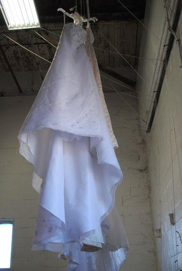 Dressing drying