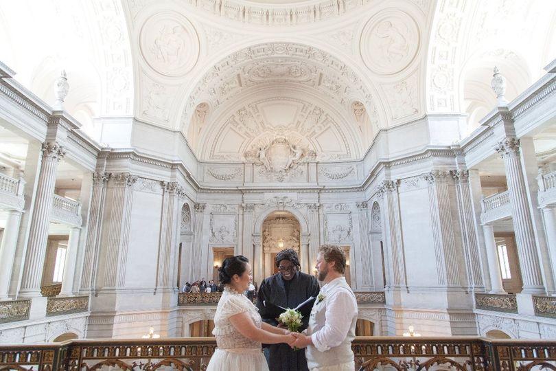 wedding san francisco city hall