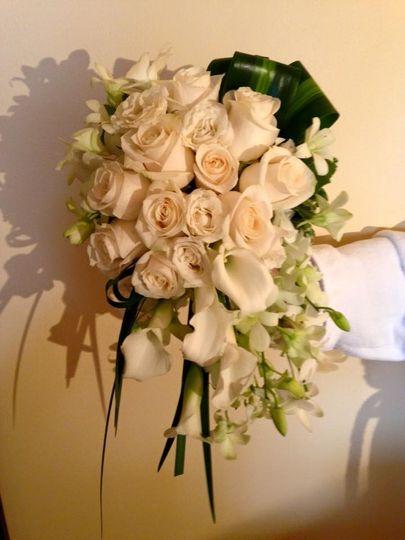 Big white roses