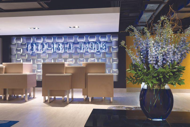 Front Desk & Lobby Area