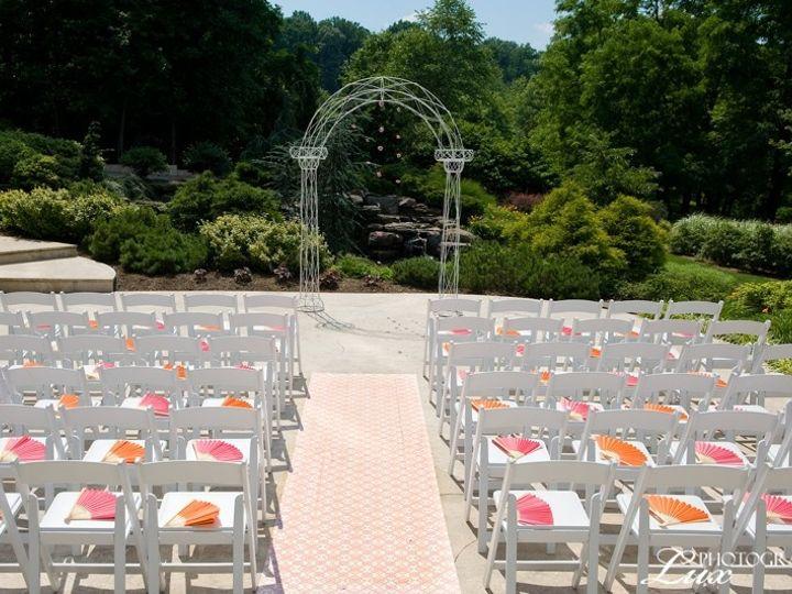 Tmx 1370977907345 Terrace Ceremony Set Up Falls Church, District Of Columbia wedding venue