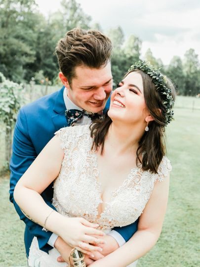 Bride and Groom | laughing