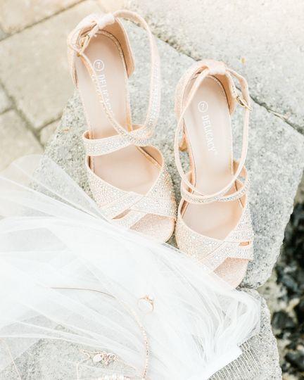 Bridal Details | Rose Gold