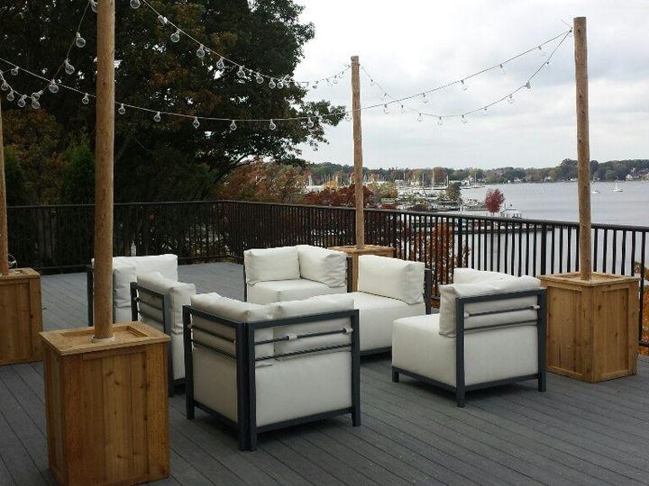 Tmx 1427589568790 Muskegon Country Club Deck White Furniture Muskegon wedding rental