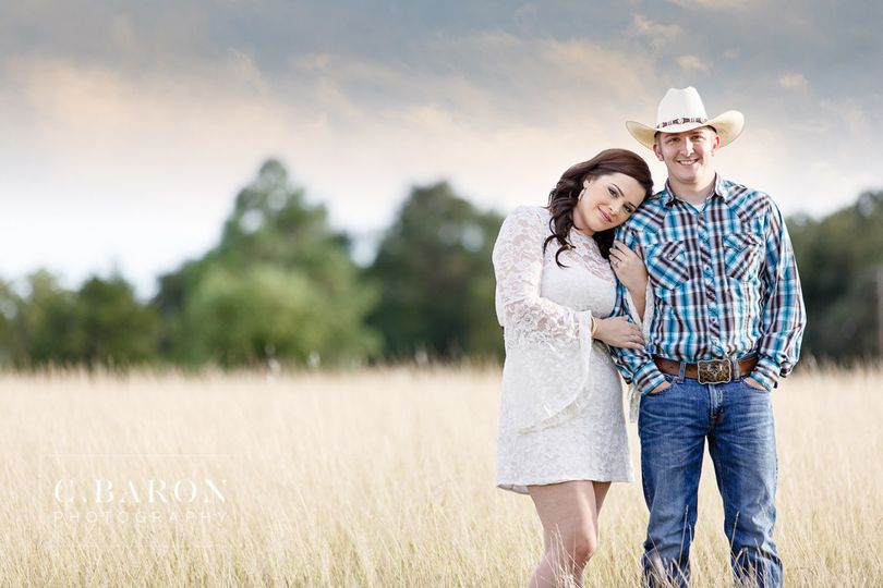 c baron photo brenham country engagement alissa ma