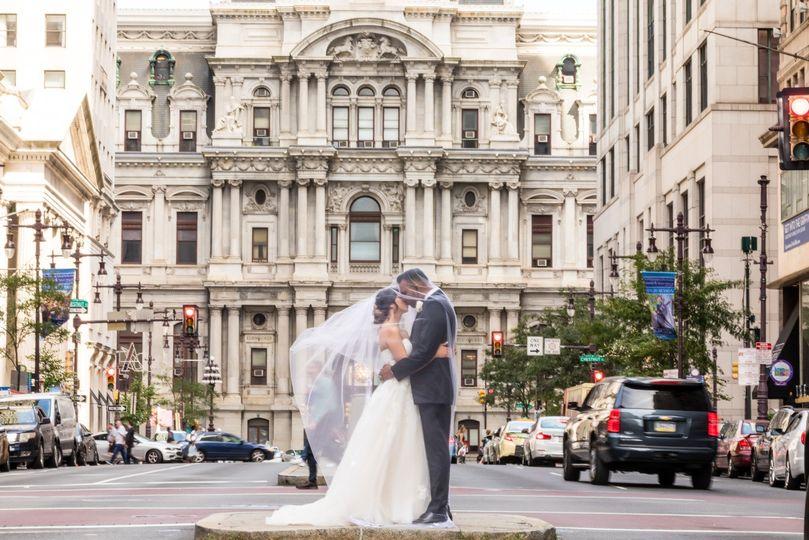 Broad St in Philadelphia