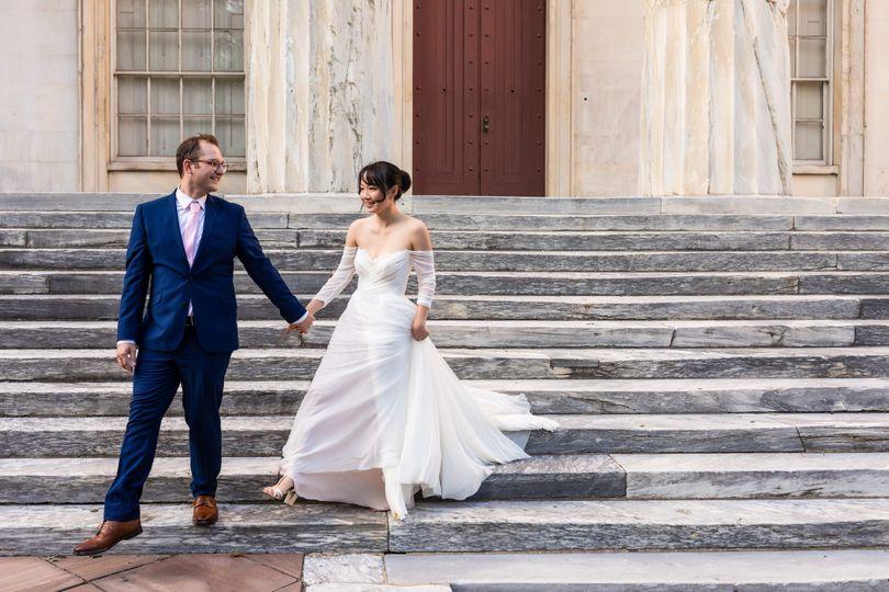 Philadelphia wedding portraits