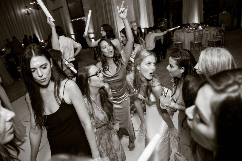 Dancing In B & W