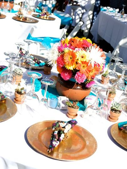 """""""Day of the Dead"""" themed wedding Super fun to do!"""