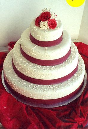 Tmx 1371488561789 Cake115md Alexandria, VA wedding cake