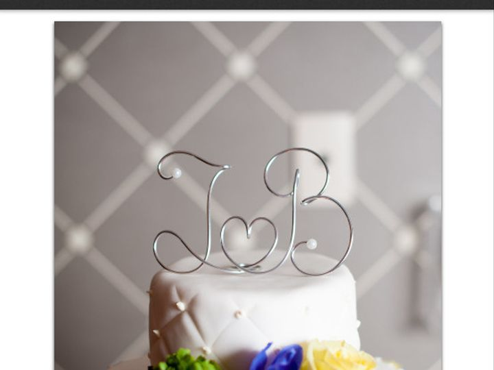 Tmx 1375127755109 Capture Alexandria, VA wedding cake