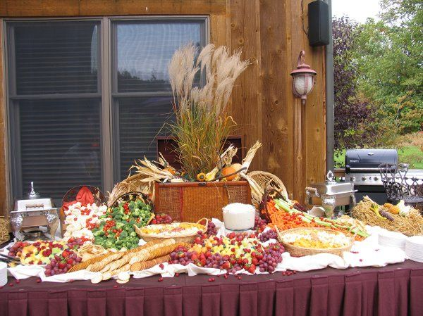 Thomas's Catering - Outdoor Crudite Station