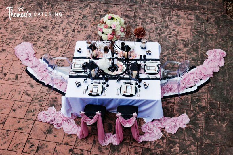 Thomas's Catering - Blush & Pinks