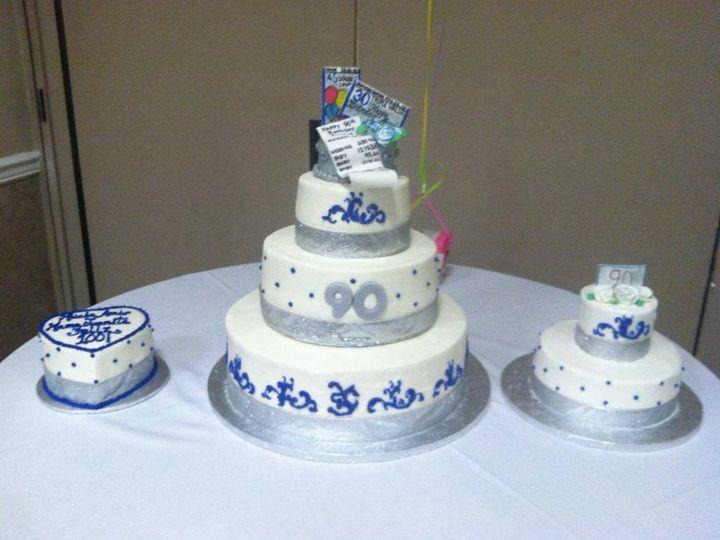 Tmx 1379513169790 Anniversary Easton wedding cake