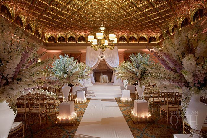 Photo credit: Christian Oth StudioVenue: The Gold Room at The Breakers of Palm Beach