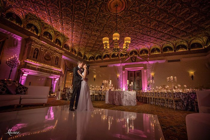 Photo credit:Munoz PhotographyVenue: The Breakers of Palm BeachThe Gold RoomVideo: Suzanne Delaware...