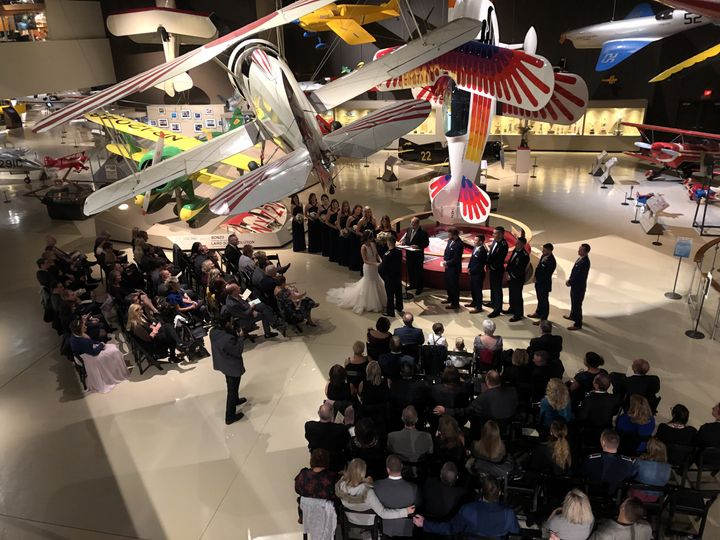EAA museum ceremony