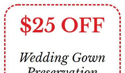 Cleveland Wedding Gown Preservation 1