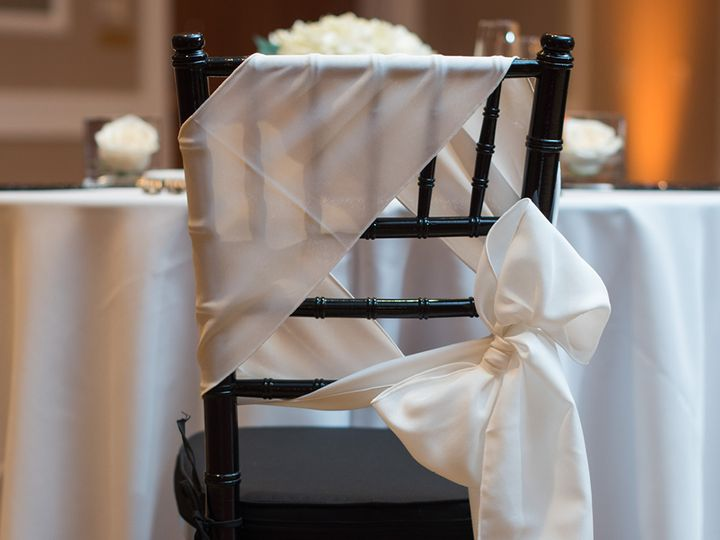 Chair draping