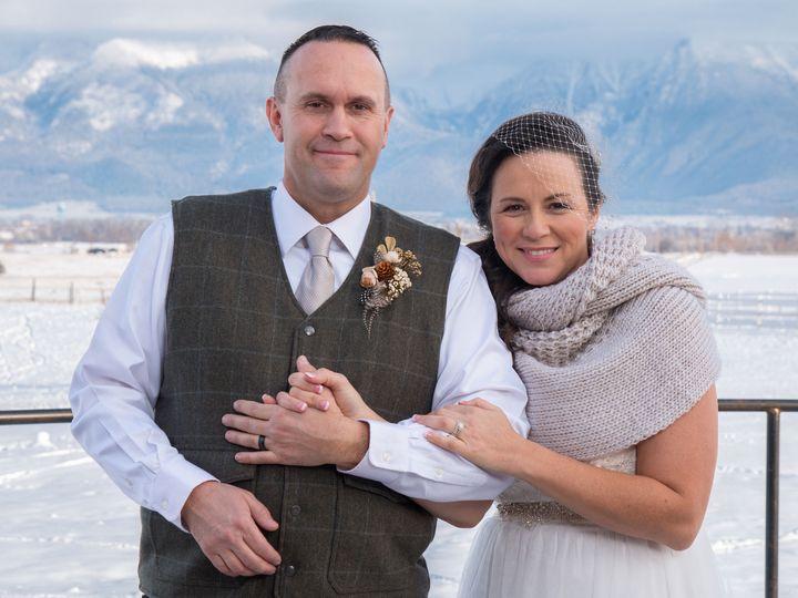 Tmx 1517078611 318e2625902d89db 1517078609 82d805db533d89ec 1517078600475 3 Couple With Mounta Saint Ignatius, Montana wedding venue