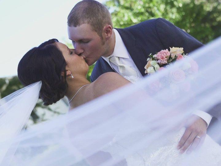 Tmx 1468354261719 Couple Back Street Kiss Davenport wedding videography