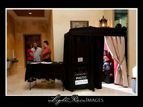 The Photo Booth itself