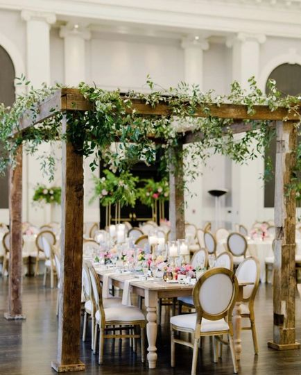 Reception Wedding Design