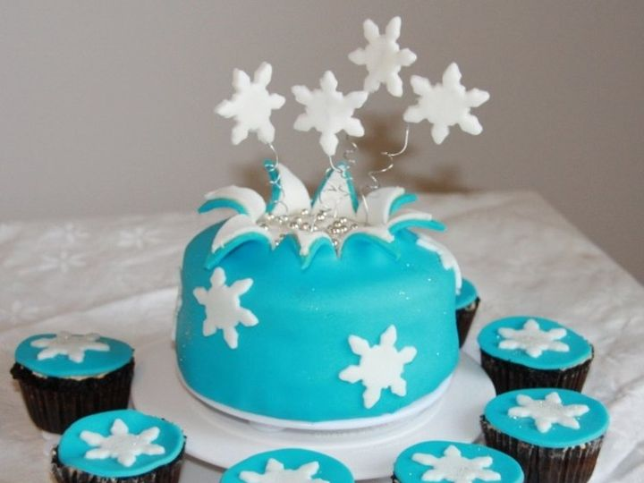 Tmx 1342798990807 Winter20Wonderland20Explosion East Orange wedding cake