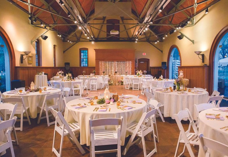 Reception inside the Freight Shed Photo by Ashleigh Ewers Photography