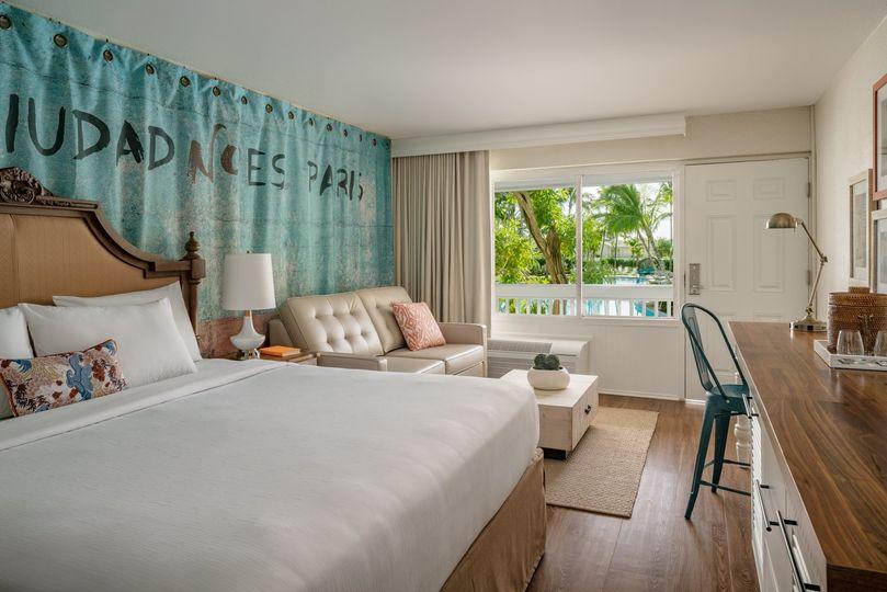 Havana Cabana guest room