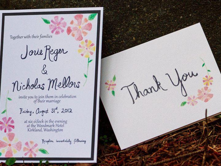 Tmx 1415224450362 2014 11 051634 Tacoma wedding invitation
