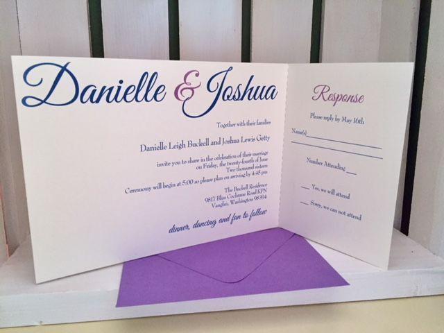 Tmx 1517849109 D280f6db530509c6 1517849108 C6cda1fec4af5264 1517849124099 2 IMG 5527 Tacoma wedding invitation