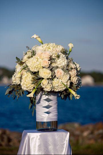 ceremony tall arrangement