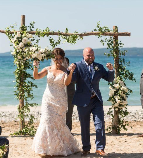 Ceremony on Sunset Beach