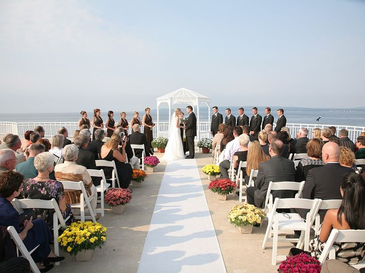Tmx Obervation Platfrom Ceremony Photo Courtesy Of Yeoman Photography 51 46160 1569942637 Petoskey, MI wedding venue