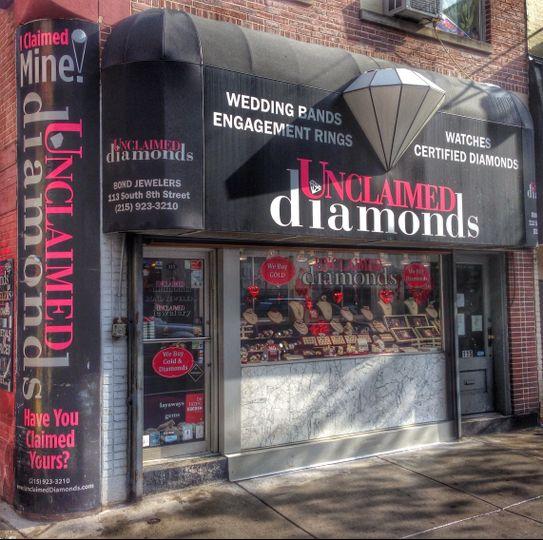 unclaimed diamonds Wedding Jewelry Pennsylvania Philadelphia Lehigh Vall