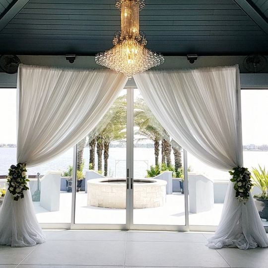 Indoor Draping