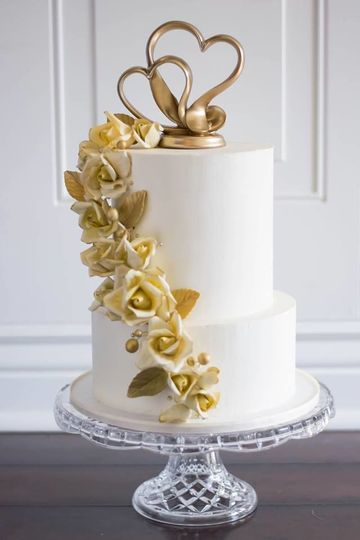 Traditional Cake with Swiss Meringue Buttercream Finish
