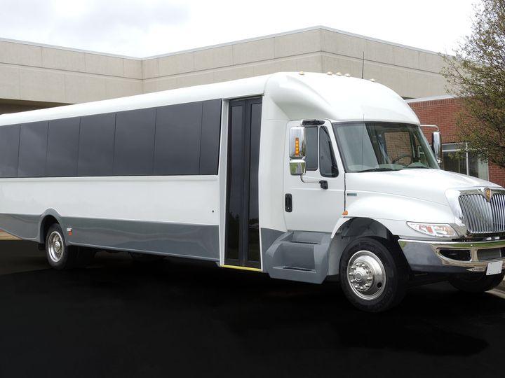 Tmx 1442453315443 44 Passenger Executive Coach Outside Arlington Heights, IL wedding transportation