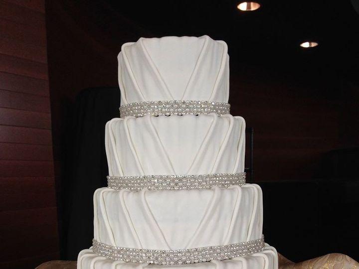 Tmx 1417715414863 Draping Fosston wedding cake