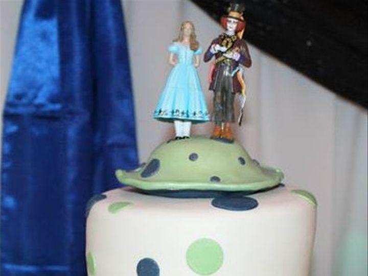 Tmx 1417715447298 Alice In Wonderland Fosston wedding cake
