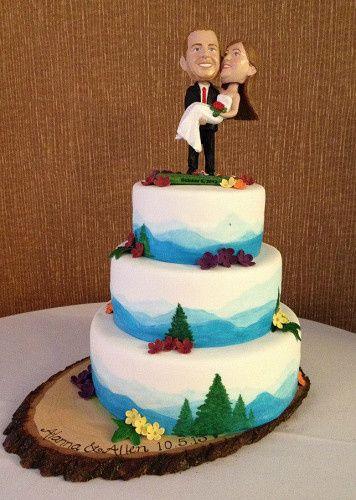 Tmx 1417715452207 Bobbleheads Fosston wedding cake