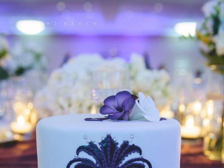 Tmx 1417715459244 Fleur De Lis Fosston wedding cake