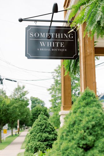 Something White entrance
