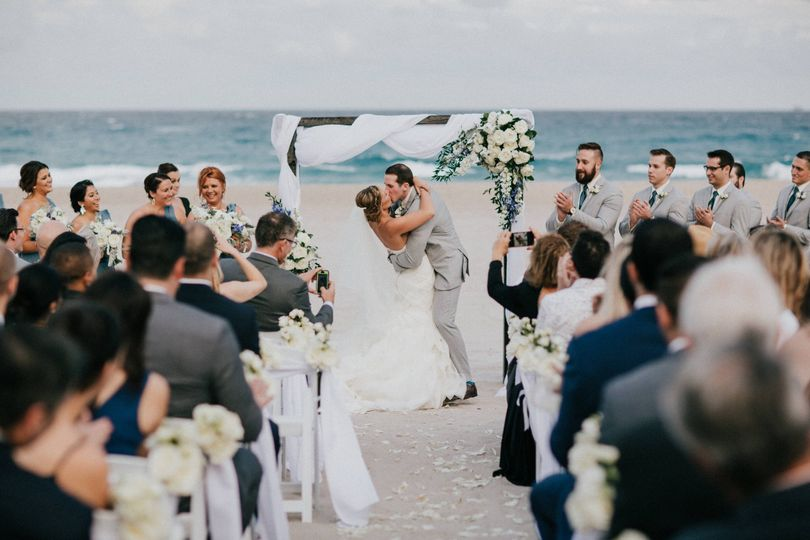 """Say """"I do"""" in the sand"""
