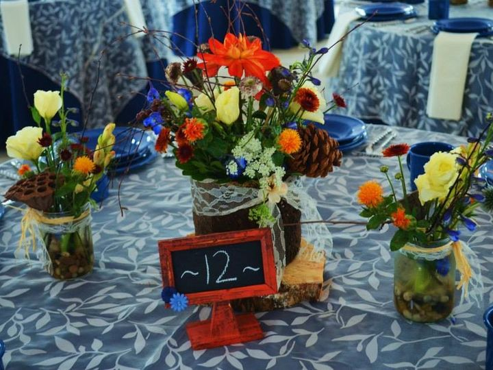 Tmx 1410308069032 Crabbs Centerpiece With Table Numbers Bennett, CO wedding planner
