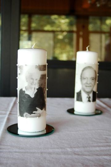The memory candles I made of our loved ones no longer with us, completed our ceremony circle. They...