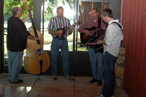 BackPorch Bluegrass, a terrific bluegrass band for a barn wedding!