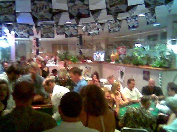Back Yard Casino Night Reception