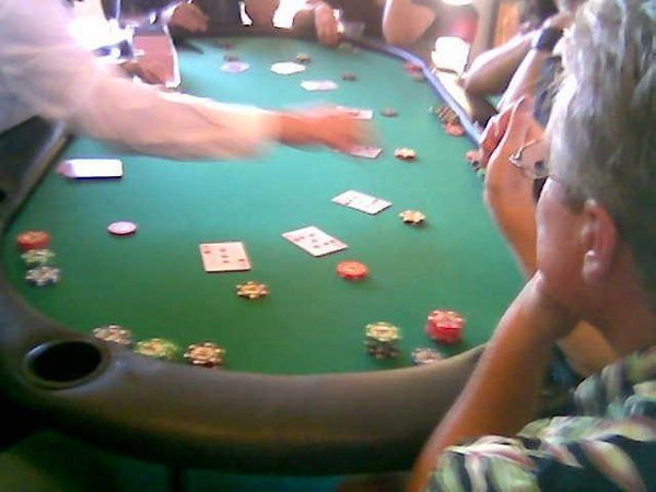 Blackjack at a casino Party